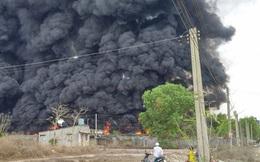 Kho phế liệu ở Đồng Nai cháy nổ dữ dội