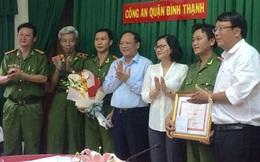 Lãnh đạo TP.HCM khen thưởng nóng công an Bình Thạnh