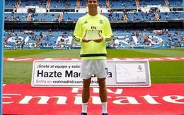 Ronaldo được Real vinh danh vì quá... khỏe