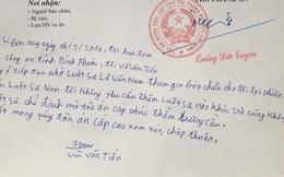 Phúc thẩm vụ thảm án ở Bình Phước: Vũ Văn Tiến viết yêu cầu người bào chữa