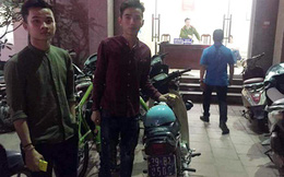 Hà Nội: Nhân viên quán karaoke lái xe biển xanh đi xem chốt 141