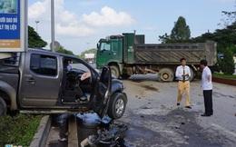 Xe bán tải gặp nạn đã chở quá số người quy định