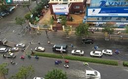 [ẢNH] Hàng loạt con đường ở Đà Nẵng ngập nặng