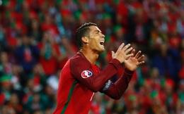 Báo Pháp trù ẻo Ronaldo bị động kinh trước trận chung kết Euro 2016