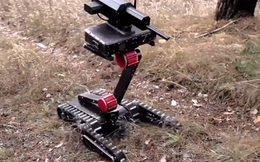 [VIDEO] Minirex - Robot bắn tỉa Nga có thể bỏ vừa trong túi xách