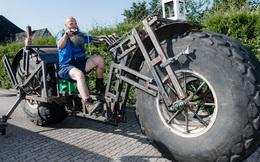 24h qua ảnh: Choáng với chiếc xe đạp nặng nhất thế giới