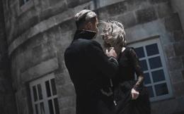 Không theo khuôn mẫu truyền thống, bộ ảnh cưới này đang gây sốt