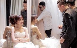 Váy cưới 10.000 USD và những tiết lộ về lễ cưới Trấn Thành