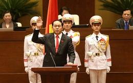 GS.TS Trần Đại Quang chính thức trở thành Chủ tịch nước, thống lĩnh các lực lượng vũ trang