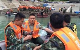 Chìm tàu du lịch ở Tứ Xuyên, 14 người mất tích