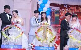 Xôn xao đám cưới chung một ngày của 3 chị em ruột ở Vũng Tàu