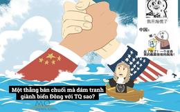 Dân Trung Quốc ngang ngược: Philippines chỉ là thằng bán chuối, sao dám tranh biển Đông?