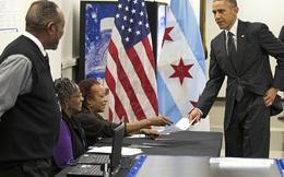Ông Obama đã bỏ phiếu bầu tổng thống tiếp theo của Mỹ