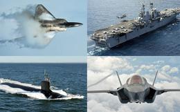 """5 vũ khí Mỹ khiến Trung Quốc chỉ có thể liếc nhìn và... """"thèm nhỏ dãi"""""""