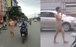 Nam thanh niên lột sạch đồ, dạo bộ khắp thủ đô