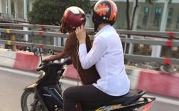 Hình ảnh lạ trên đường phố Hà Nội: Đẳng cấp thú cưng là đây!