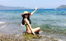 Mỹ nhân Huế hot nhất Hoa hậu VN 6 năm trước - Lê Nhã Uyên giờ ra sao?