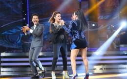 Vietnam Idol: MC Phan Anh trố mắt trước hành động lạ của Thu Minh