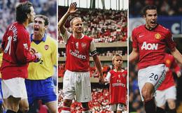 Đại chiến Man United - Arsenal: Đẹp như Bergkamp, xấu như Nistelrooy, vô lại như Van Persie