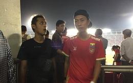 """Hẫng hụt khi """"nhận trái đắng"""", CĐV Myanmar quay lưng với đội nhà"""