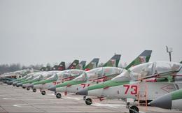 [ẢNH] Belarus nhận thêm số lượng lớn chiến đấu cơ Yak-130 từ Nga