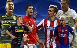Tây Ban Nha đại chiến Đức ở Champions League