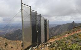 Sử dụng lưới thu hoạch nước từ không khí - giải pháp tuyệt vời cho những vùng nông thôn nghèo
