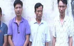 Ổ nhóm dùng dao kiếm đi thu tiền bảo kê của dân bị bắt