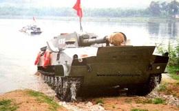 Pháo tự hành biết bơi của Quân đội Nhân dân Việt Nam