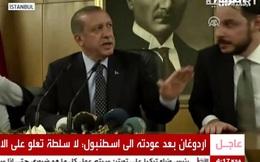 """Tổng thống Thổ Nhĩ Kỳ Erdogan """"thanh lọc"""" quân đội sau khi đánh bại đảo chính"""