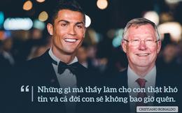 """Fan Man United, Ronaldo và Sir Alex """"tan chảy"""" vì những lời này"""
