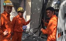 Hình ảnh mới nhất ở bốt điện phát nổ khiến 5 người thương vong