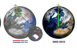 """""""Số đo ba vòng"""" của Trái đất đang thay đổi vì biến đổi khí hậu"""