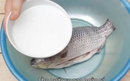 Ngâm thực phẩm vào nước muối hoặc nước vo gạo: Lợi bất cập hại