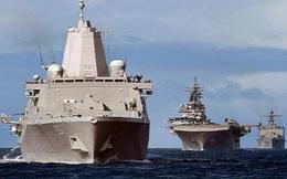 Hai siêu hạm Mỹ sát Syria, Nga chuyển hết Su-33 lên bờ