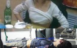 Bị đánh nhập viện vì vạch áo bạn gái người khác lên xem hình xăm