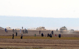 Thổ Nhĩ Kỳ đưa thêm 20 xe tăng, mở mặt trận mới chống IS ở Syria