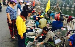 Dân Hà Thành xếp hàng mua đậu phụ đầu năm
