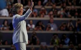 """Clinton nhận đề cử ứng viên TT: """"Nước Mỹ không sợ hãi"""""""