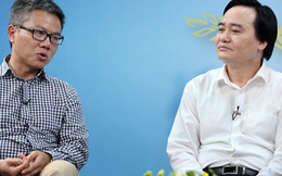 Bộ trưởng Nhạ, GS Châu bàn chuyện thu hút nhân tài
