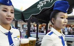 Nét đặc biệt trong lễ hội bia đầu tiên ở Triều Tiên