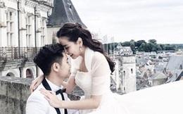 Ảnh cưới hiếm hoi của MC Thời tiết Mai Ngọc tại Pháp