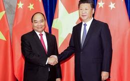 Thủ tướng Nguyễn Xuân Phúc hội kiến Chủ tịch TQ Tập Cận Bình