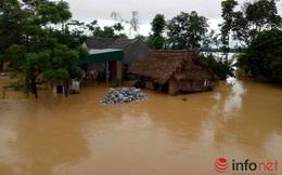 Tin lũ khẩn cấp trên sông Gianh (Quảng Bình)