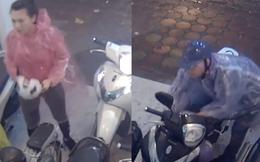 Cặp nam nữ phá khóa xe SH trong 4s giữa phố Hà Nội