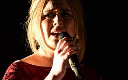Adele khóc sướt mướt sau sự cố trên sân khấu Grammy
