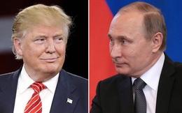 Tổng thống Nga gửi điện chúc mừng năm mới tới ông Donald Trump