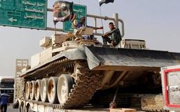 Iraq dồn dập chuyển xe tăng, súng cối để quyết tái chiếm Mosul
