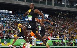 Usain Bolt làm nên lịch sử với tấm HCV 100m tại Olympic Rio