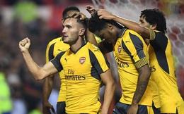 CLIP: Tân binh tỏa sáng, Arsenal thắng tưng bừng